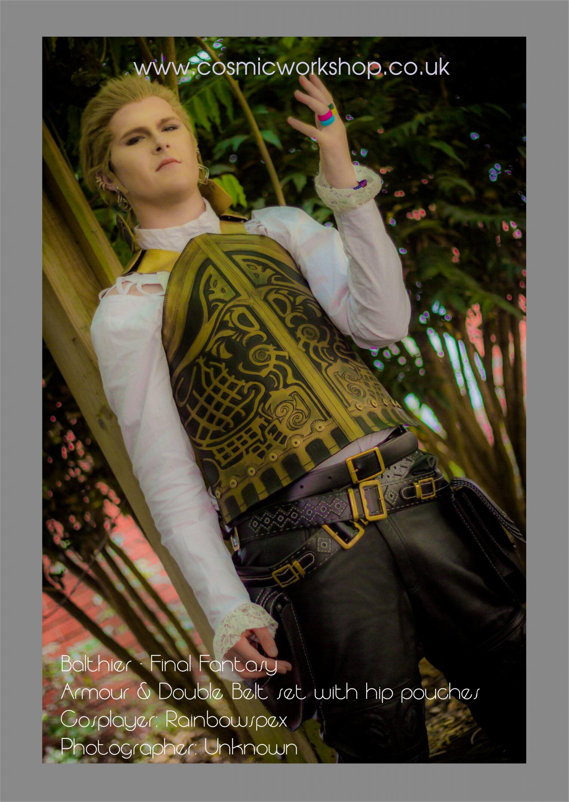 Balthier Final Fantasy cosplay costume