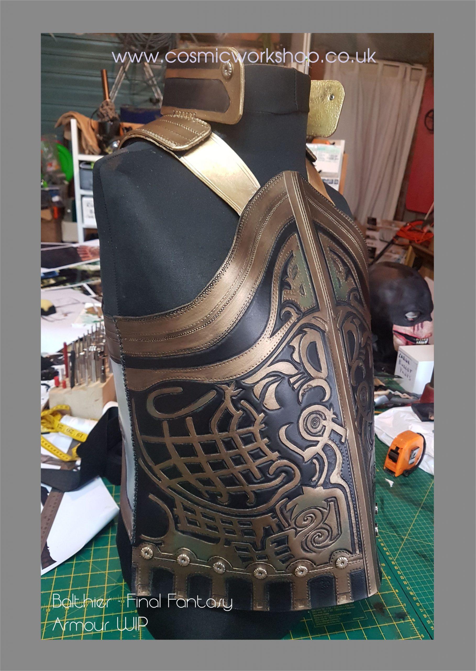 Balthier neck detail