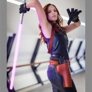 Mara Jade holster belt