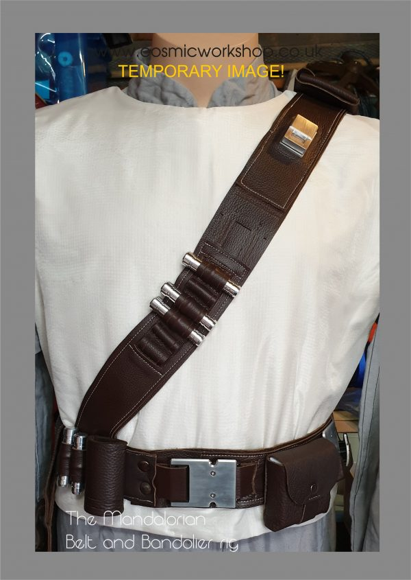 the mandalorian belt and bandolier
