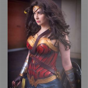 wonder woman harness