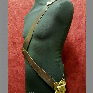 left side of wonder woman harness