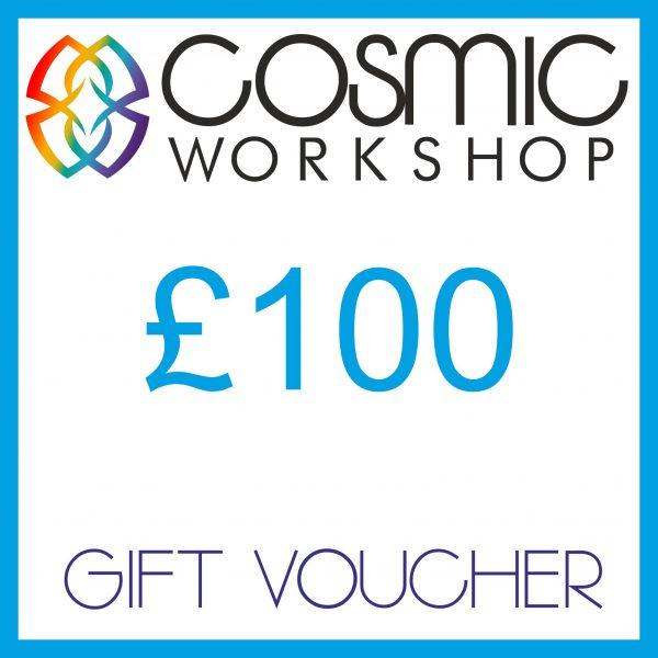 Cosmic Workshop £100 gift voucher