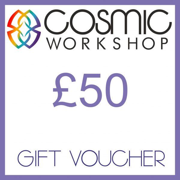 Cosmic Workshop £50 gift voucher