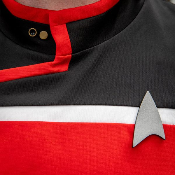 star trek lower decks cosplay badge and pips set